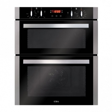 CDA Built-under Double Oven, Aa Rated, Touch Control Timer, Stainless Steel DC740SS