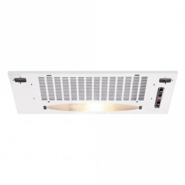 CDA Canopy Hood, 520mm Wide, 3 Speed In White CCA5WH