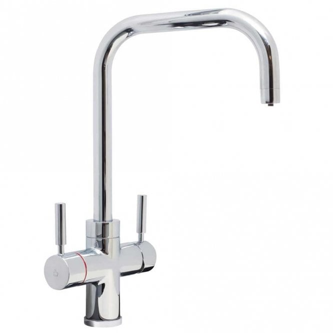 Cda Dual Lever Chrome Kitchen Sink Tap Th101ch Cda From Taps Uk