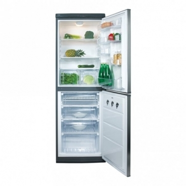 CDA Freestanding 50/50 Fridge Freezer Stainless Colour A+ Rated FF851SC