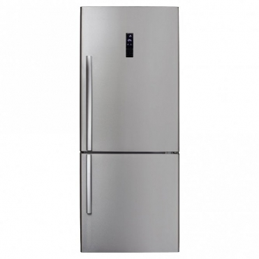 CDA Freestanding Frost Free Fridge Freezer Stainless A+ Rated FF770SS