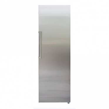 CDA Freestanding Full Height Single Larder Fridge Stainless Colour A++ Rated FF820SC