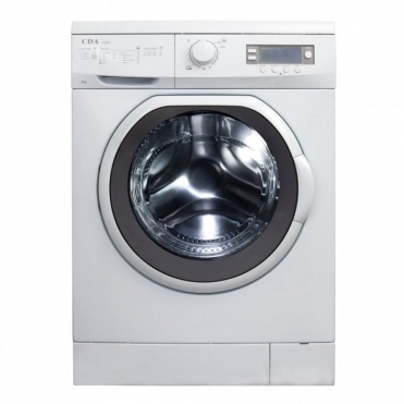 CDA Freestanding Washing Machine, 9kg, 1200 Spin, A+++ab Rated, White CI261WH