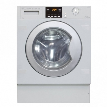 CDA Fully Integrated Washer Dryer, 6kg+3kg 1200 Spin Ba Rated CI925
