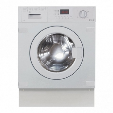 CDA Fully Integrated Washing Machine, 7kg 1400 Spin A+ab Rated CI371