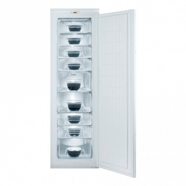 CDA Integrated Full Height Single Door Freezer A+ Rated FW881