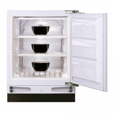 CDA Integrated Under Counter 60cm Freezer A+ Rated FW283
