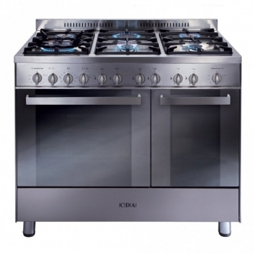 CDA Range Ckr 90 Double Gas Oven Gas Hob Ff Minute Minder S/steel RC9322SS