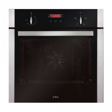 CDA Single Fan Oven With Timer Level 2 SK200SS