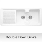 ceramic kitchen sink double drainer sinks and faucets home. beautiful ideas. Home Design Ideas