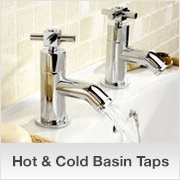 Hot & Cold Basin Taps