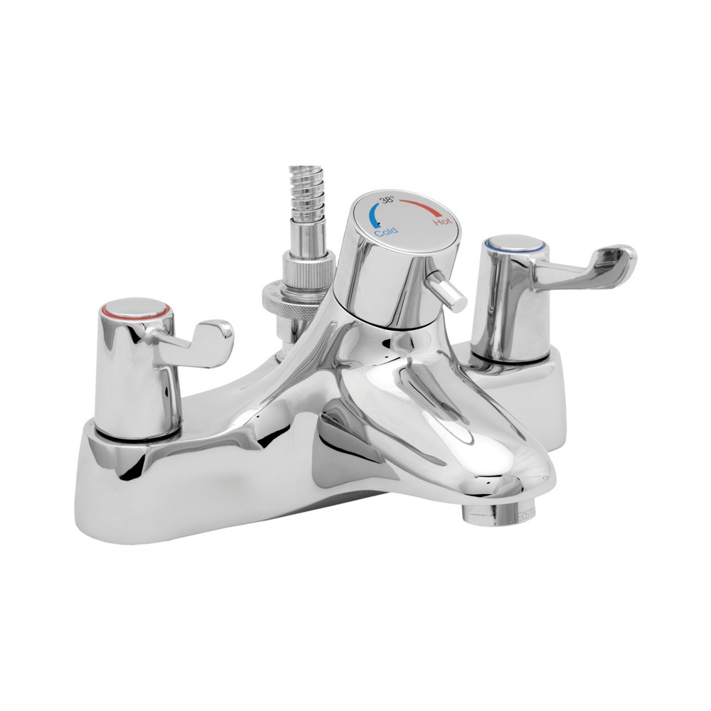 deva chrome lever thermostatic bath shower mixer tap buy deva dynamic thermostatic bath shower mixer amp flow