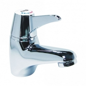Deva Chrome Sequential Lever Mono Basin Mixer Tap SOL003