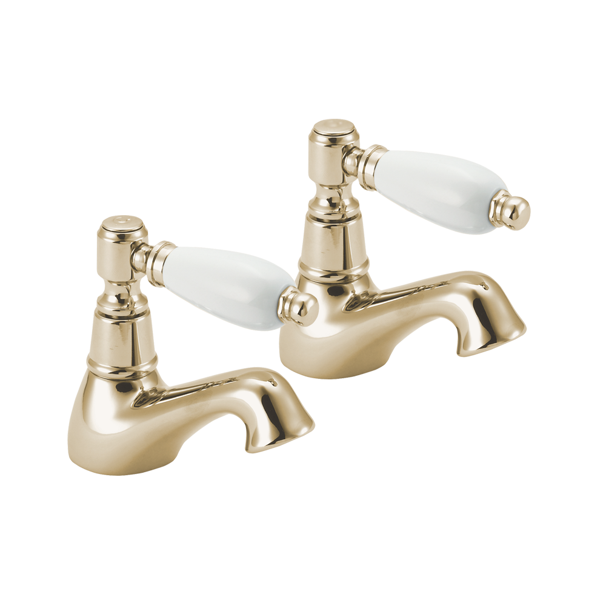 Deva Georgian Gold Bathroom Basin Mixer Taps GE01 501