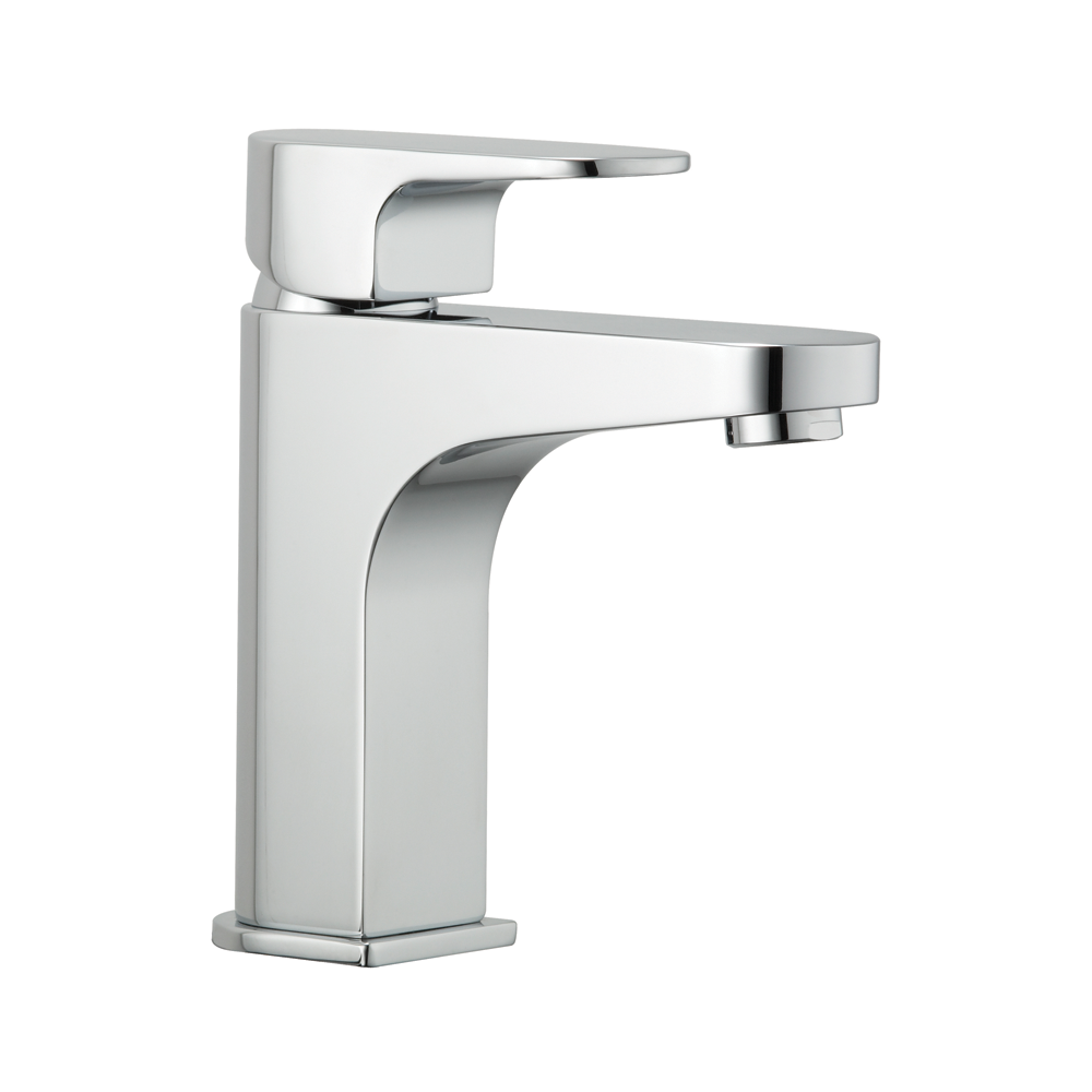 Deva Lush Chrome Mono Bathroom Basin Mixer Tap Popup