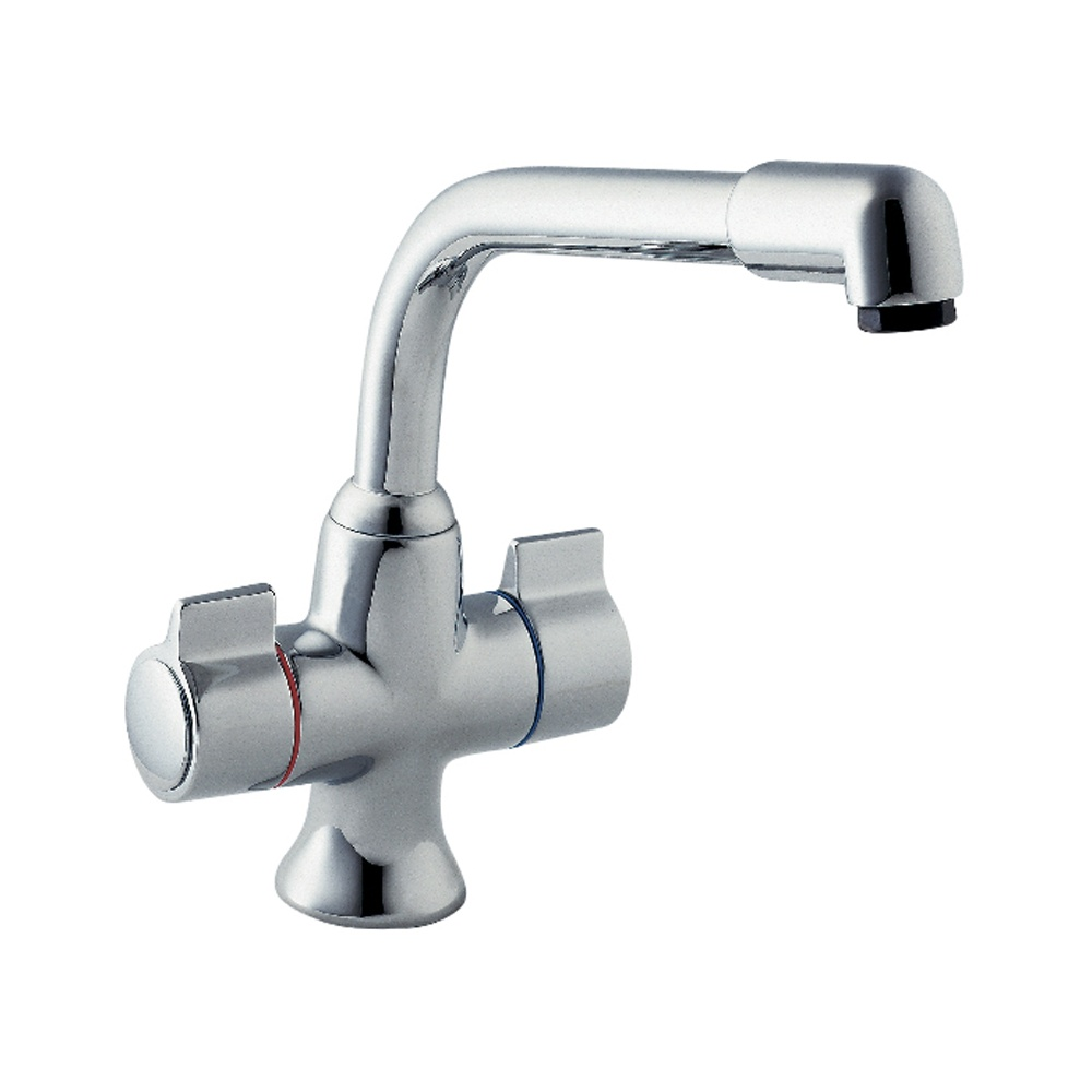Remarkable  Deva › Deva Sauris Chrome Twin Handle Kitchen Sink Mixer Tap SMS172 1000 x 1000 · 82 kB · jpeg