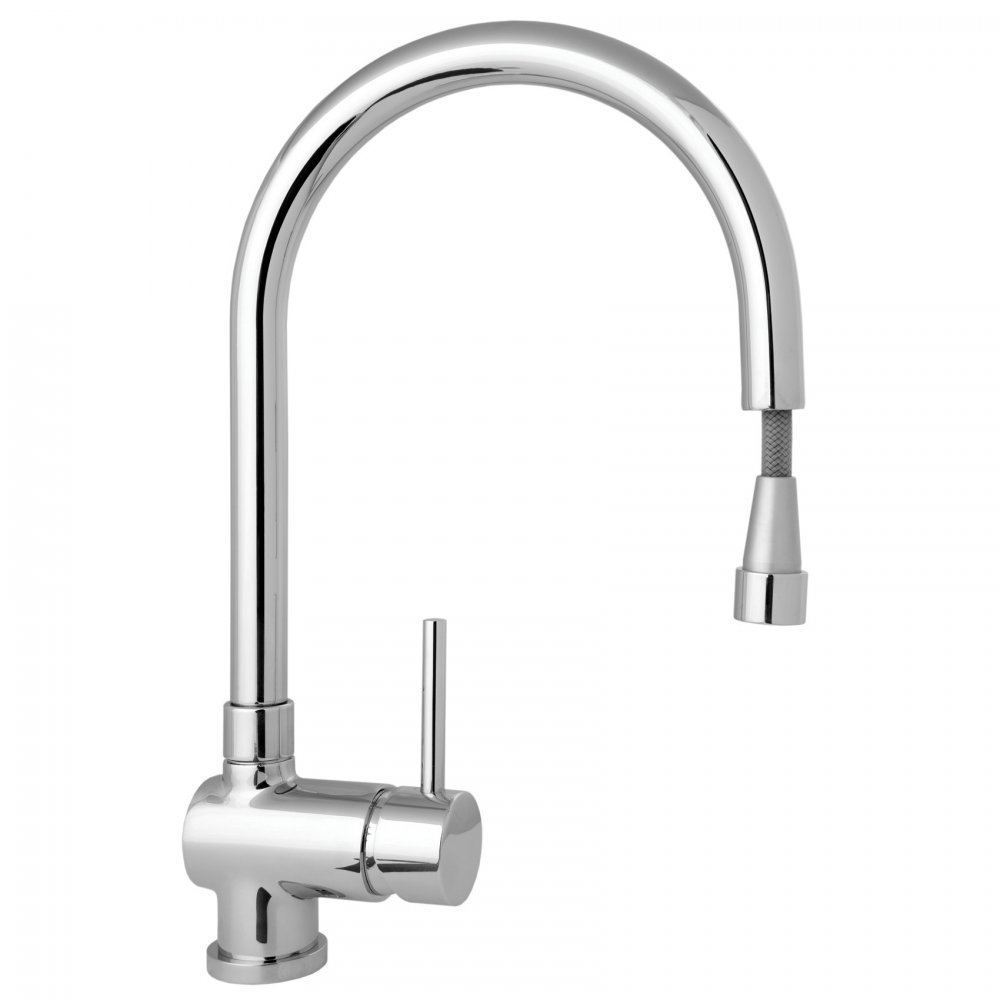 spout single lever kitchen sink mixer tap stick104 deva from taps uk. Interior Design Ideas. Home Design Ideas