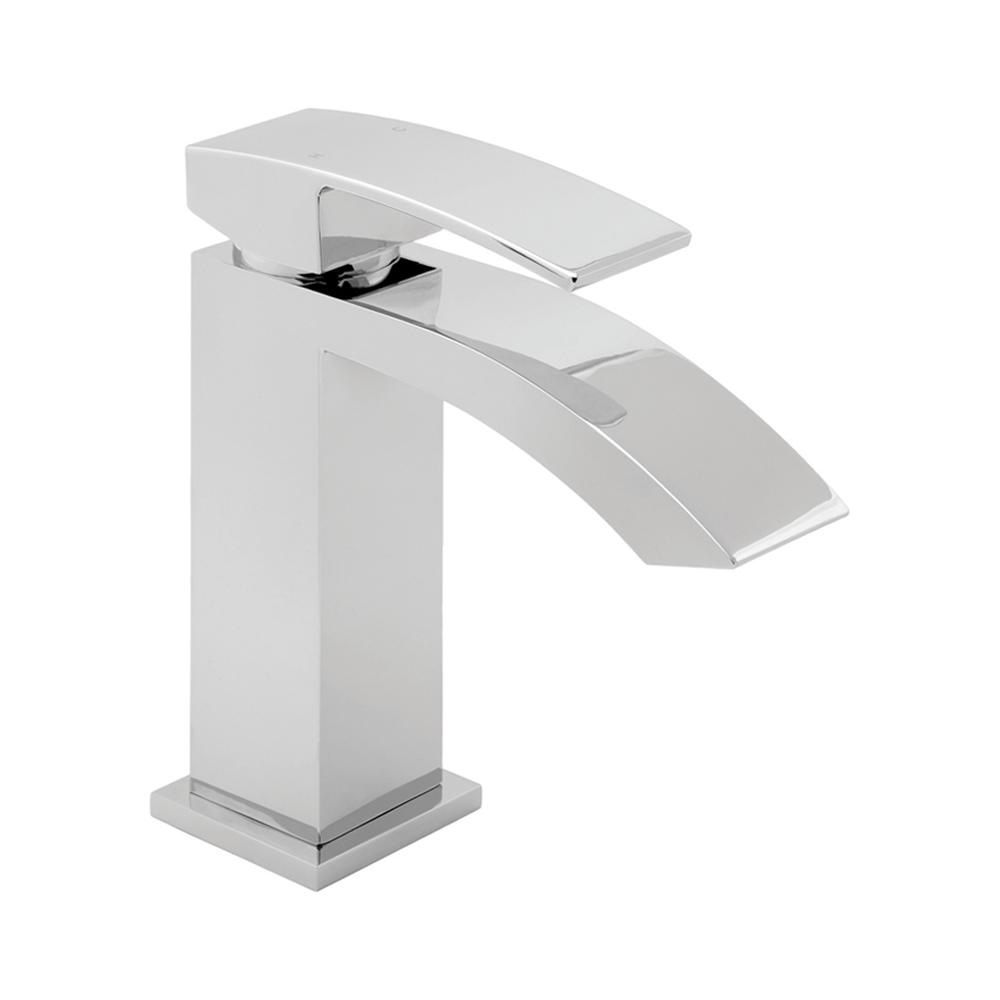 Deva Swoop Chrome Mono Bathroom Basin Mixer Tap Popup