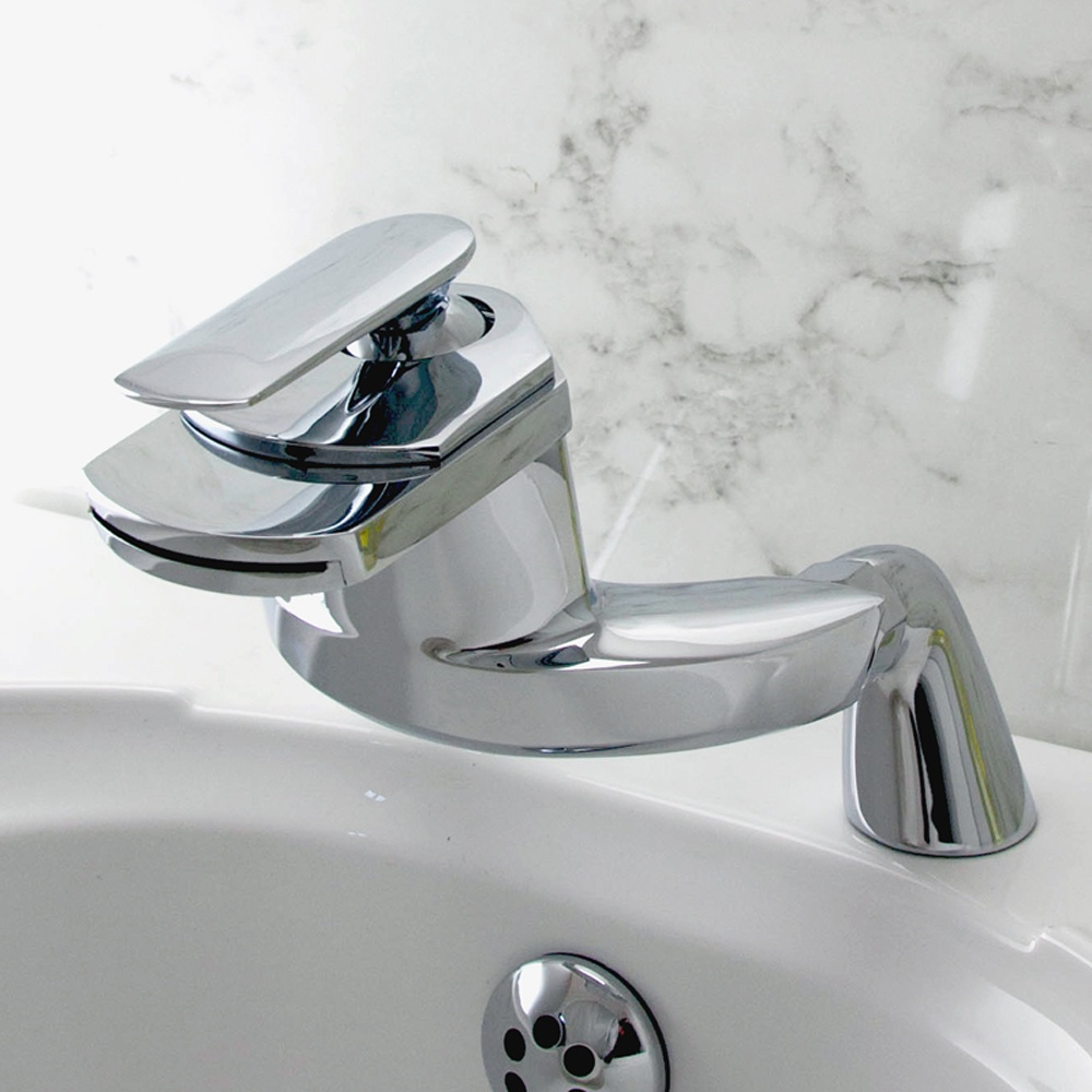 bathroom taps dream waterfall bathroom bath mixer tap pillar