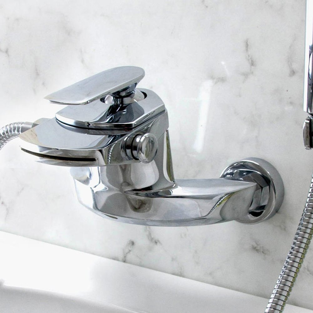 dream waterfall bathroom bath shower mixer tap from taps uk