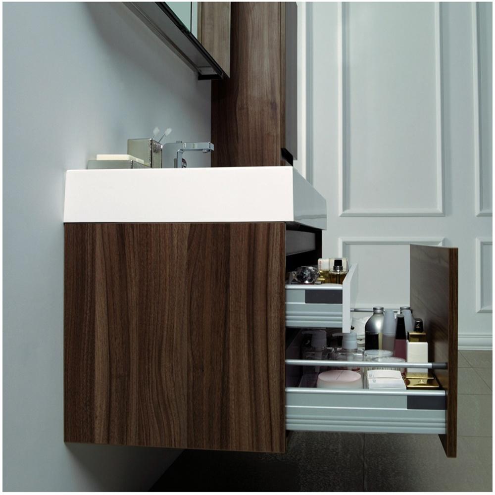 bel air 1000mm brown oak bathroom cabinet basin cabinet 1th basin