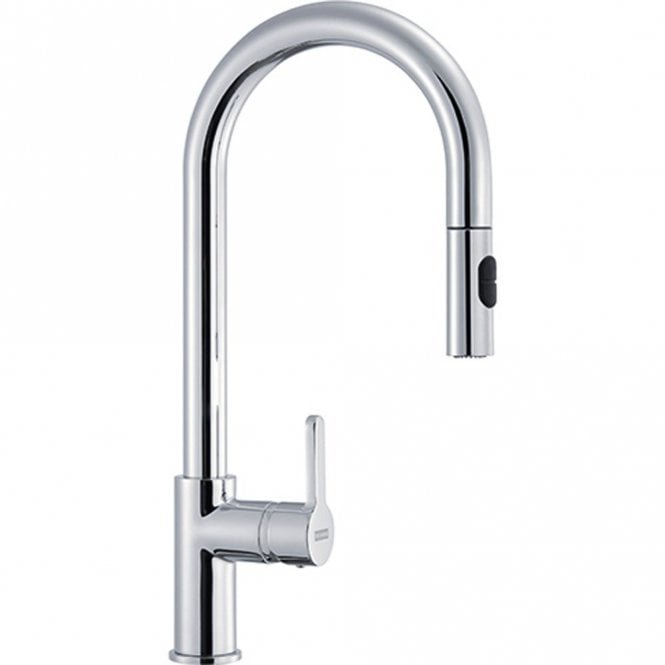 Franke Arena Pull Out Spray Chrome Single Lever Kitchen Sink Mixer