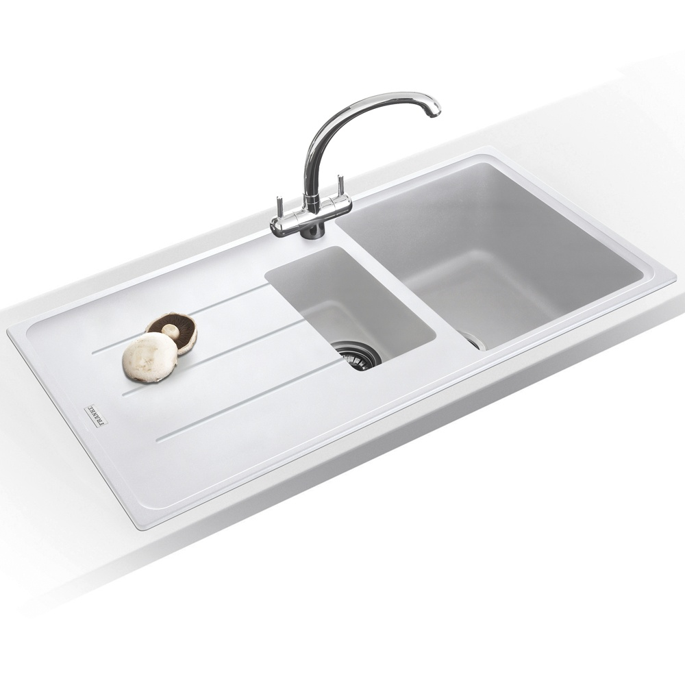 Franke White Composite Sink : ... Franke ? View All 1.5 Bowl Sinks ? View All Franke 1.5 Bowl Sinks
