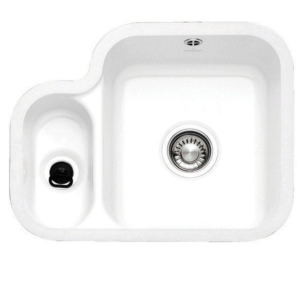 Franke White Ceramic Sink : ... View All Undermount Kitchen Sinks ? View All 1.5 Bowl Ceramic Sinks