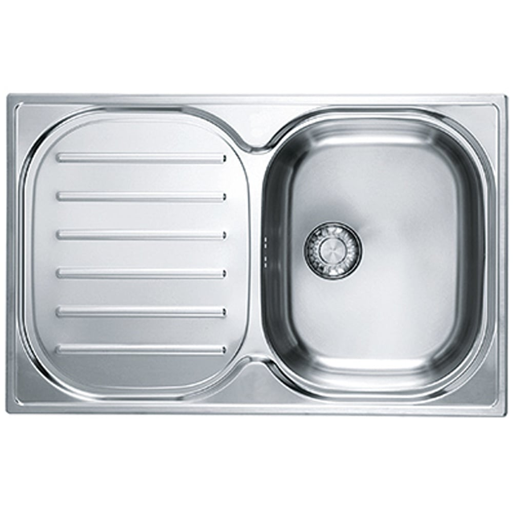 Fabulous Franke Compact 1 0 Bowl Silk Stainless Steel Kitchen Sink Home Interior And Landscaping Sapresignezvosmurscom