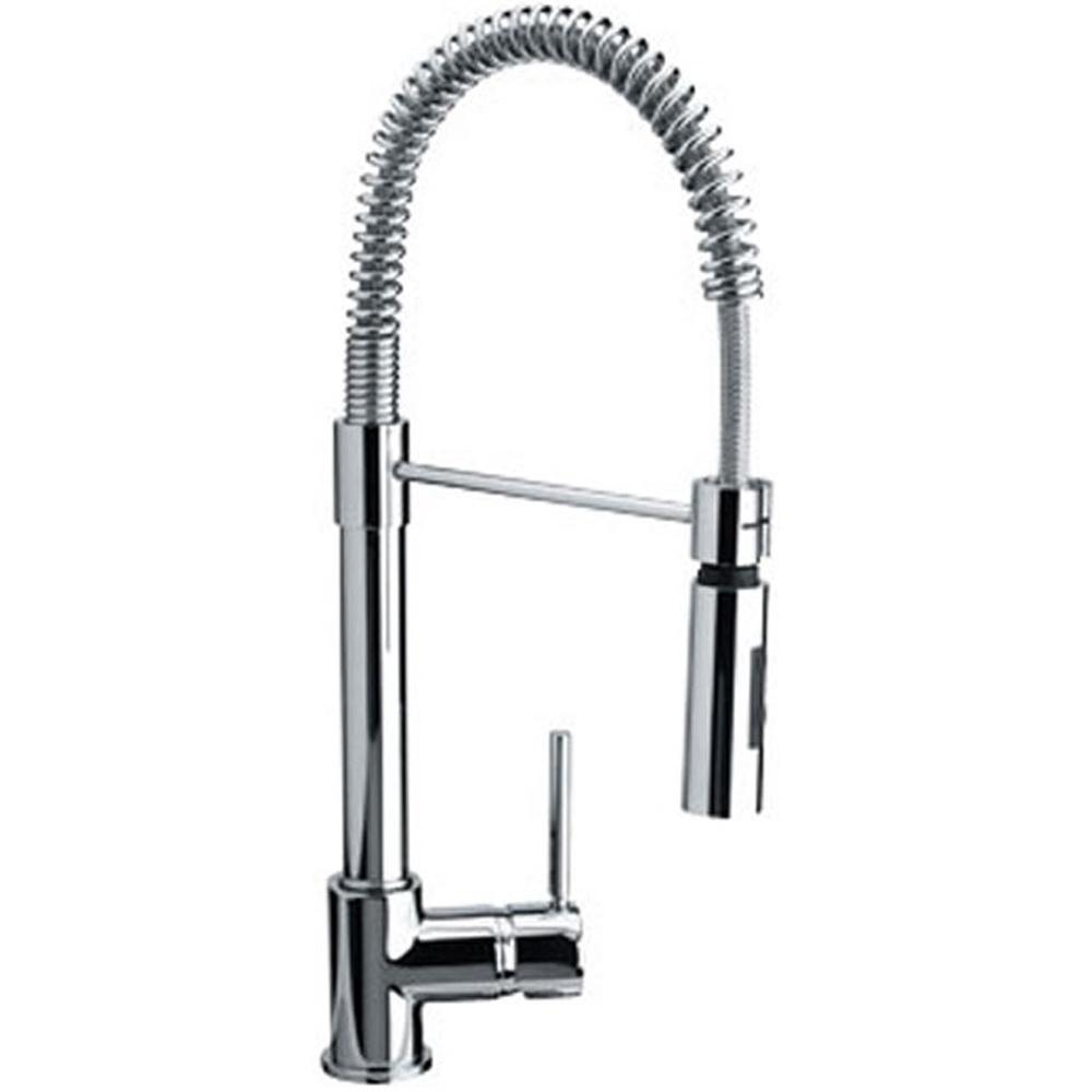 Franke Coxy Chrome Single Lever Pull Out Spray Kitchen Sink Mixer - Kitchen sink taps uk