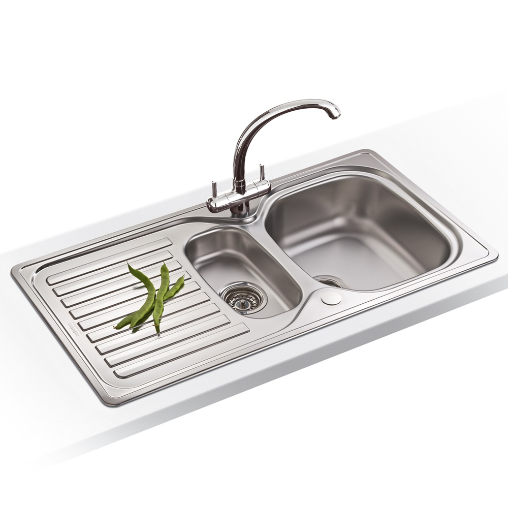 Franke Stainless Steel : View All Franke ? View All 1.5 Bowl Sinks ? View All Franke 1.5 ...