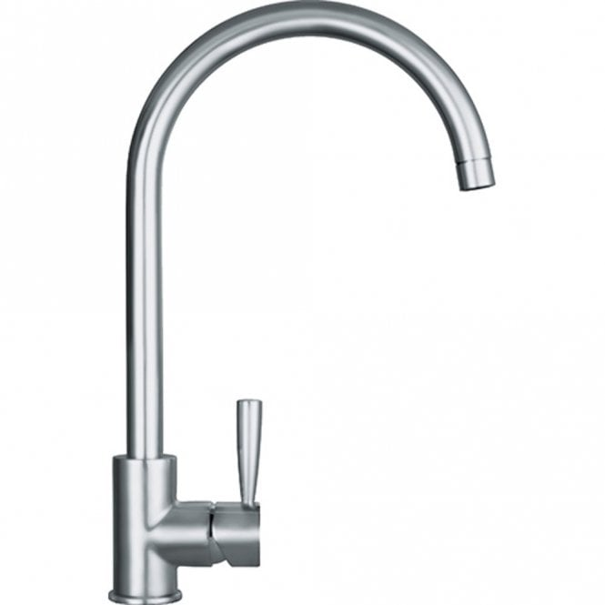 Franke Fuji Silk Steel Single Lever Kitchen Sink Mixer Tap Franke