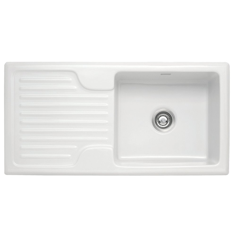 Franke Galassia Sink : ? Franke ? Franke Galassia 1.0 Bowl Ceramic White Kitchen Sink ...