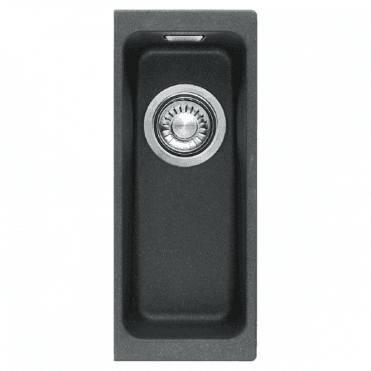 Franke Kubus 0.5 B Granite Onyx Black Undermount Kitchen Sink U0026 Waste ...