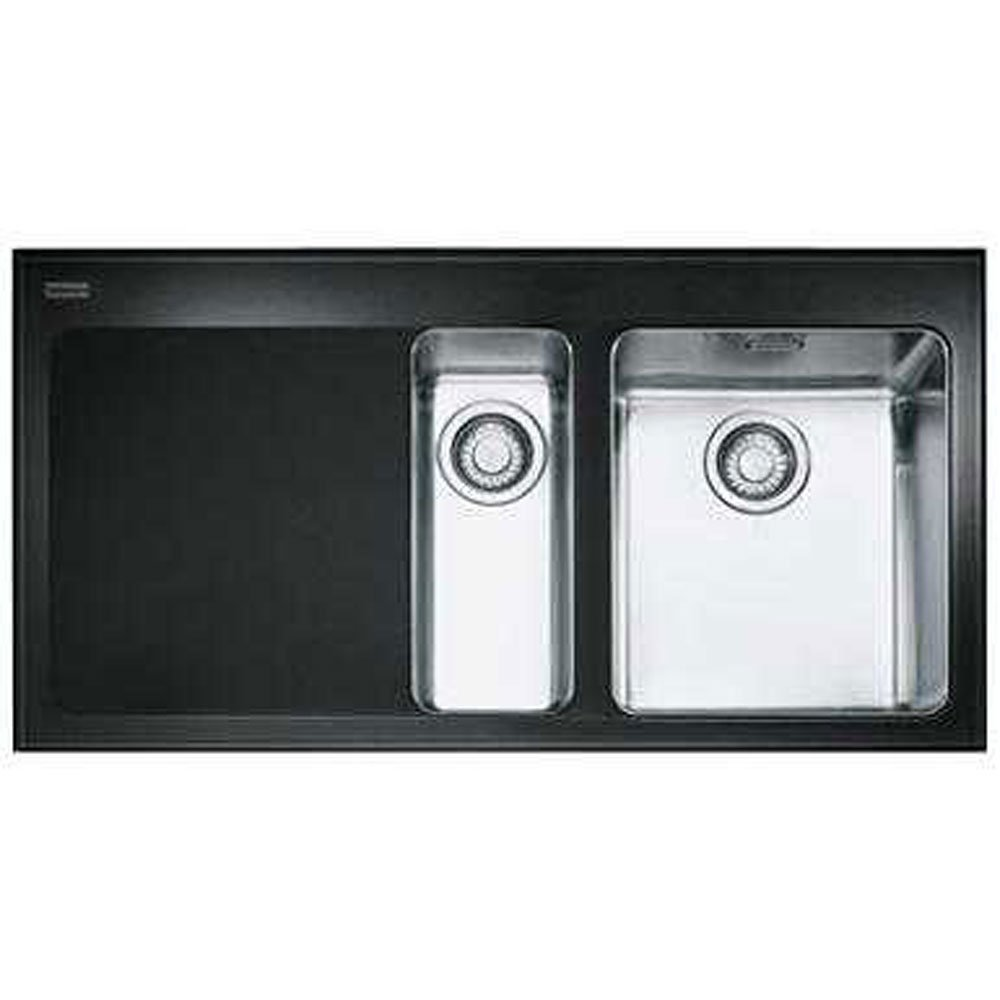 Franke Black Glass Sink : ... All Franke ? View All 1.5 Bowl Sinks ? View All 1.5 Bowl Sinks