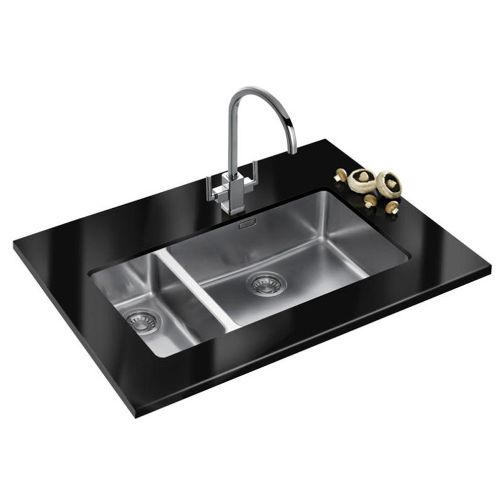Franke Ss Sinks : Franke Kubus Stainless Steel Undermount Kitchen Sink KBX 160 55-20 ...