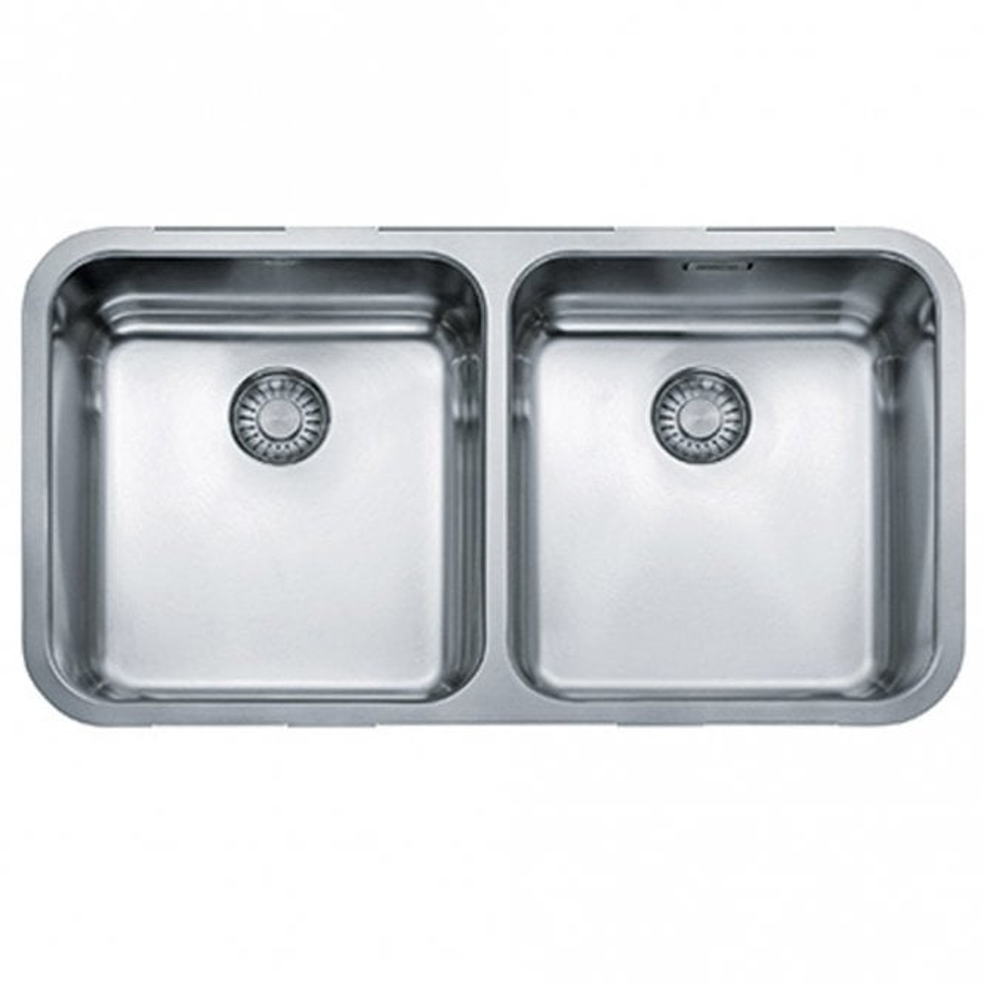 Franke Largo 20 Bowl Silk Stainless Steel Undermount Kitchen Sink