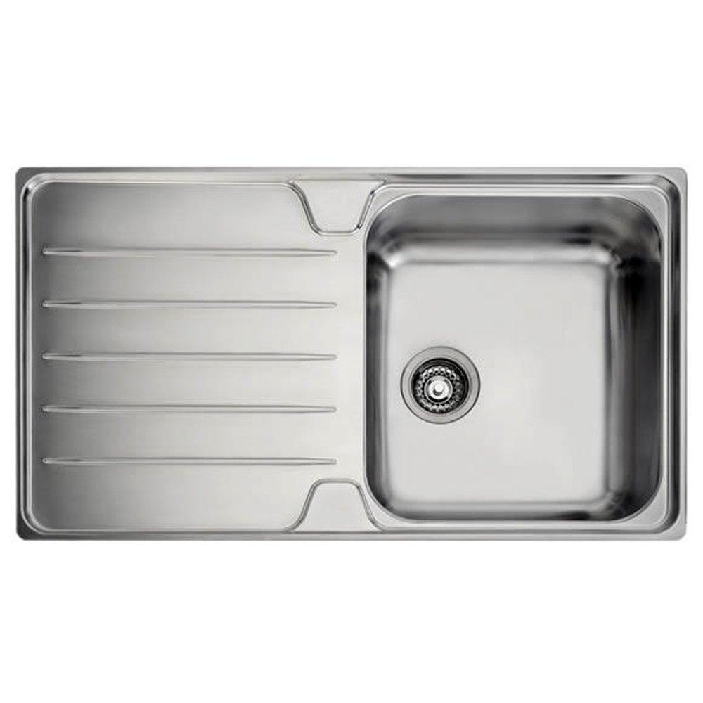 Franke Laser 1 0 Bowl Silk Stainless Steel Kitchen Sink Waste LH LSX611