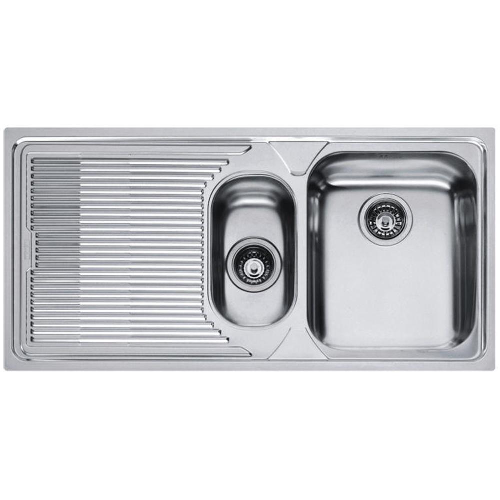 Franke Logica 1 5 Bowl Stainless Steel Kitchen Sink Waste Lox651 Lhd
