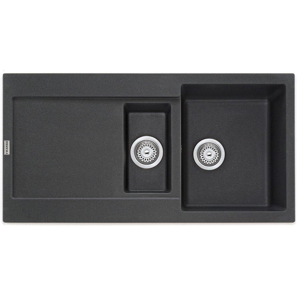 Franke Sinks Black Granite : view all franke view all 1 5 bowl sinks view all franke 1 5 bowl sinks