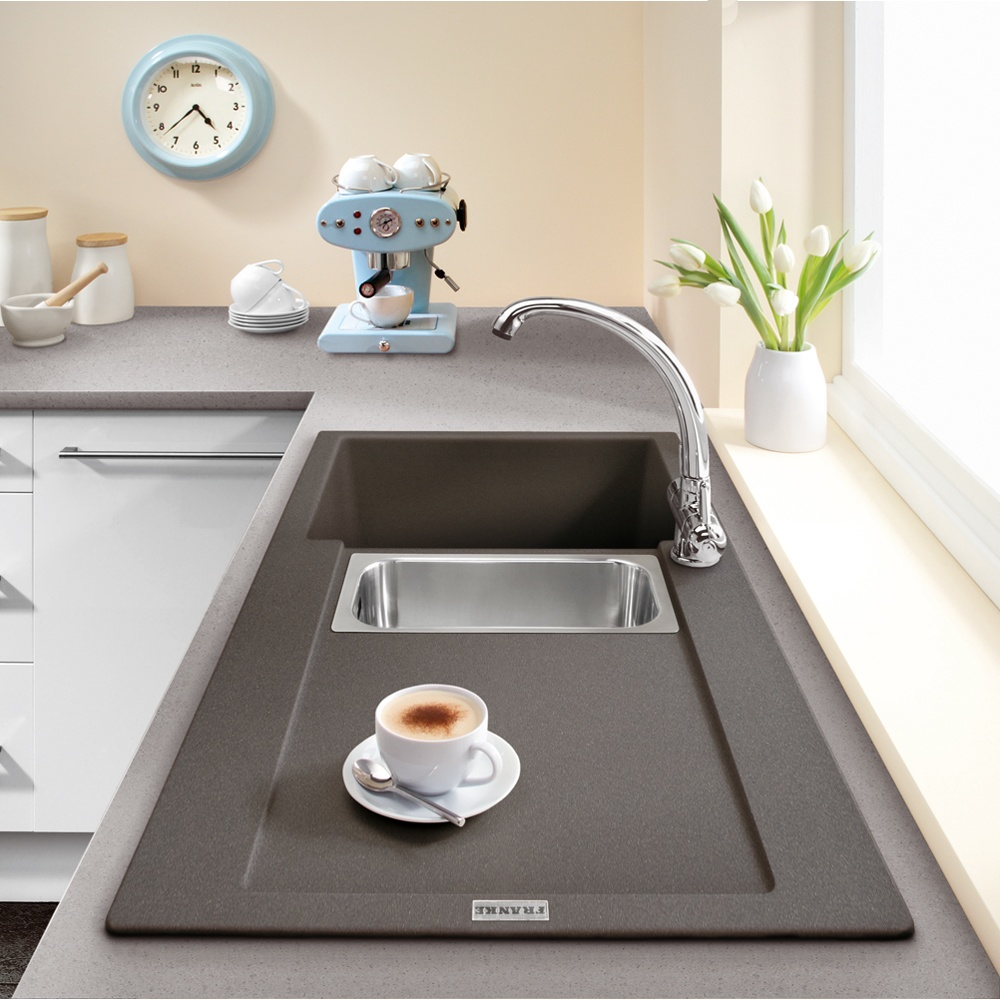Franke Sinks Black Granite : ... Franke ? View All 1.5 Bowl Sinks ? View All Franke 1.5 Bowl Sinks