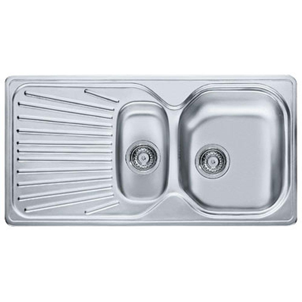 Franke Mikado 1 5 Bowl Stainless Steel Kitchen Sink Waste MON651 Fran