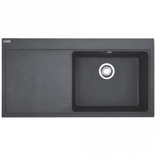 Franke Granite : Franke Mythos 1.0 Bowl Granite Onyx Black Kitchen Sink & Waste MTG611 ...