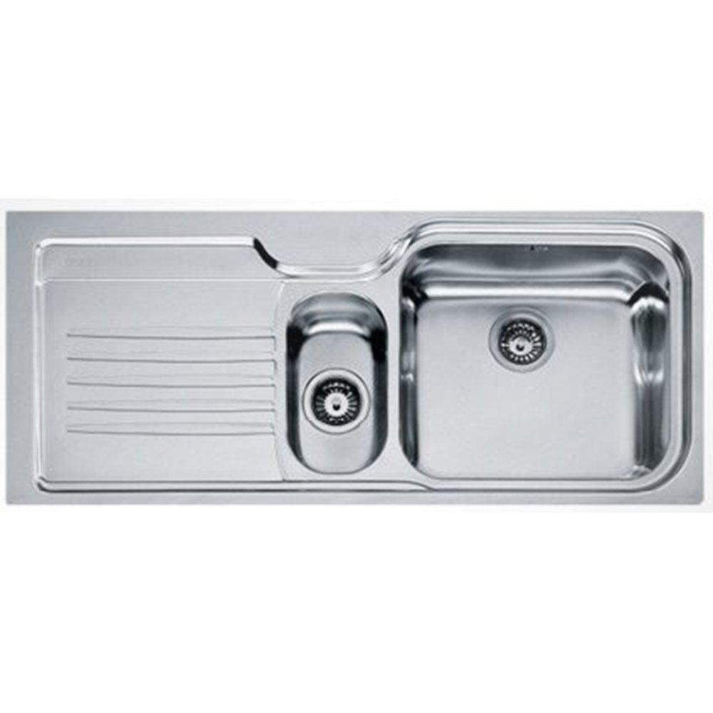 Franke Opera 1 5 Bowl Stainless Steel Kitchen Sink Waste OPX651 LHD F