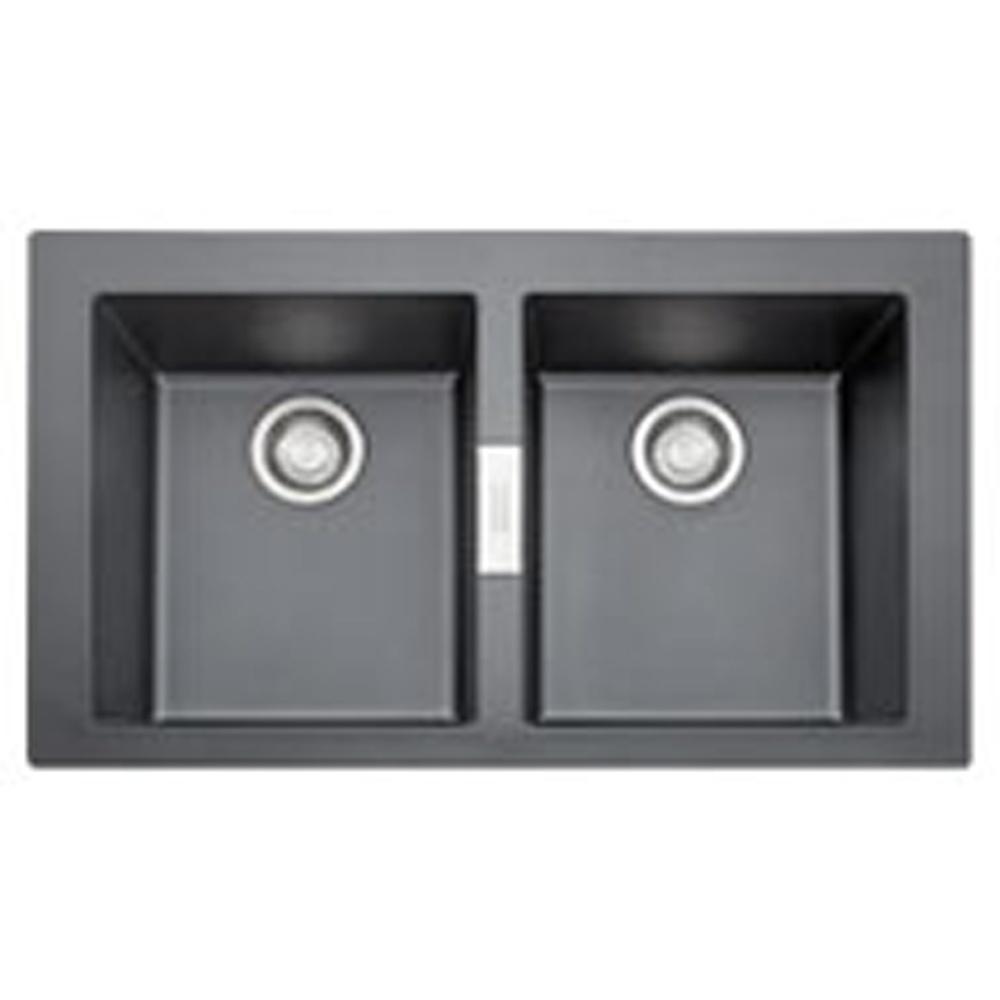 Franke Sirius : Franke Sirius 2.0 Bowl Black Tactonite Kitchen Sink & Waste SID620 ...