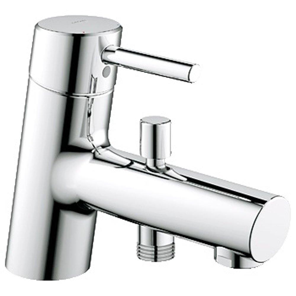 grohe concetto chrome single lever bath shower mixer tap single lever bath shower mixer tap images 16887808