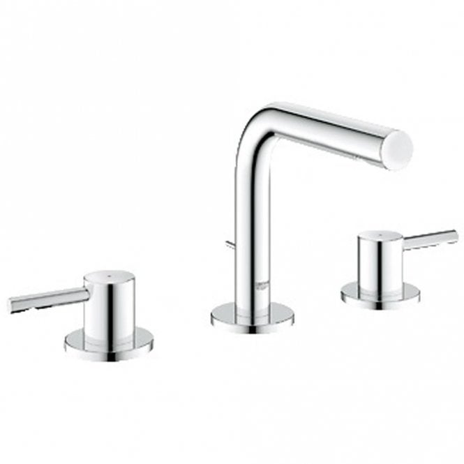 grohe essence chrome 3 hole basin mixer tap 20296000 grohe from