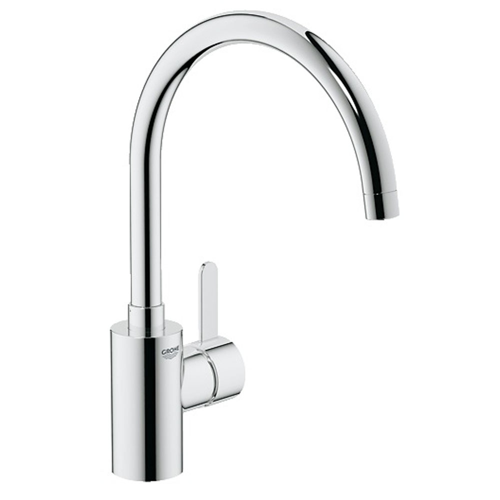 Grohe Eurosmart Cosmopolitan Chrome Single Lever Kitchen Sink Mixer