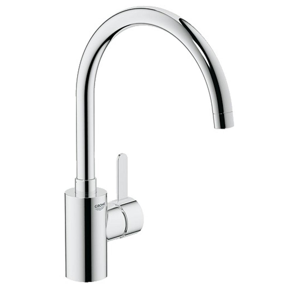 Grohe Eurosmart Cosmopolitan Chrome Single Lever Kitchen Sink - Kitchen sink taps uk