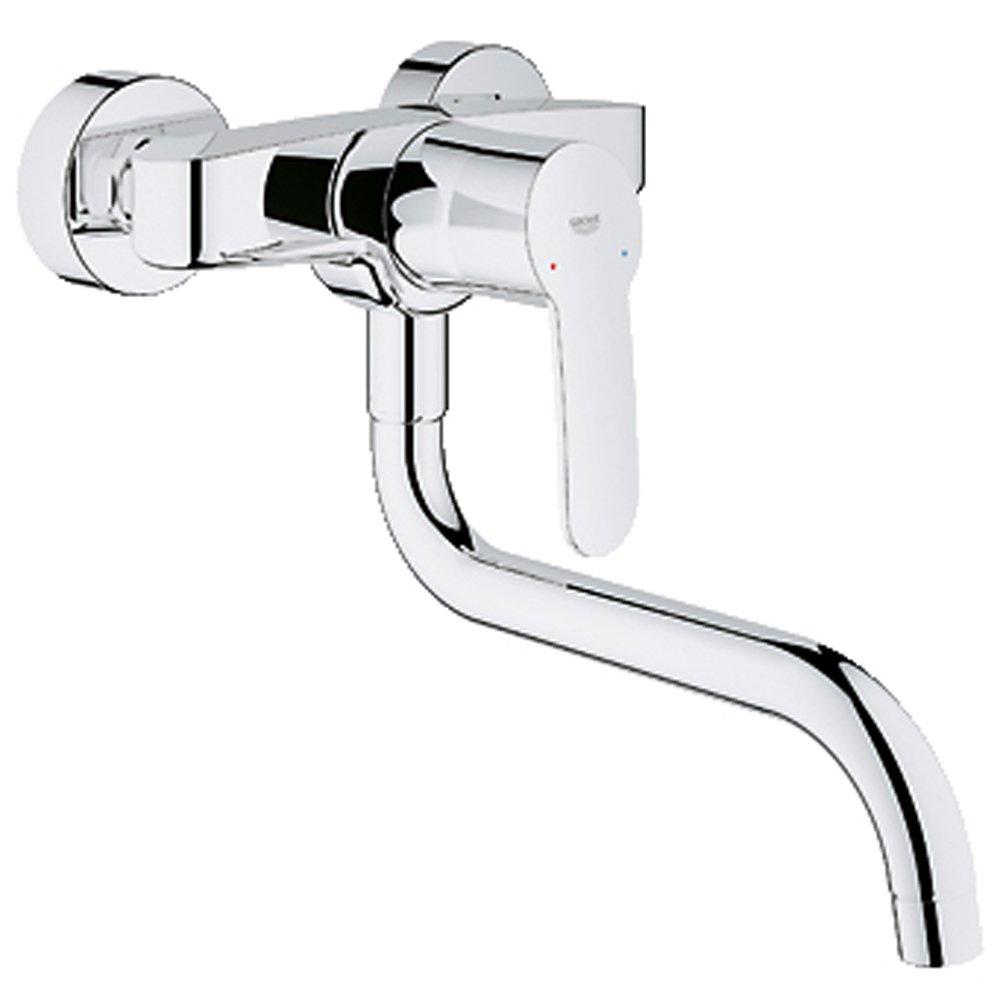 Grohe Ambi Cosmopolitan Moloc Kitchen Sink Mixer Tap With Swivel ...